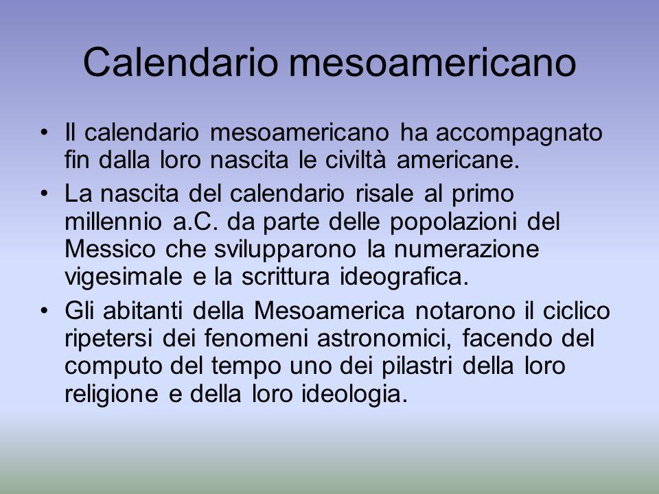 Calendario mesoamericano