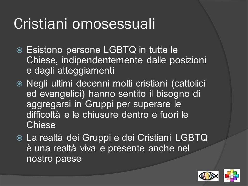 Cristiani omosessuali
