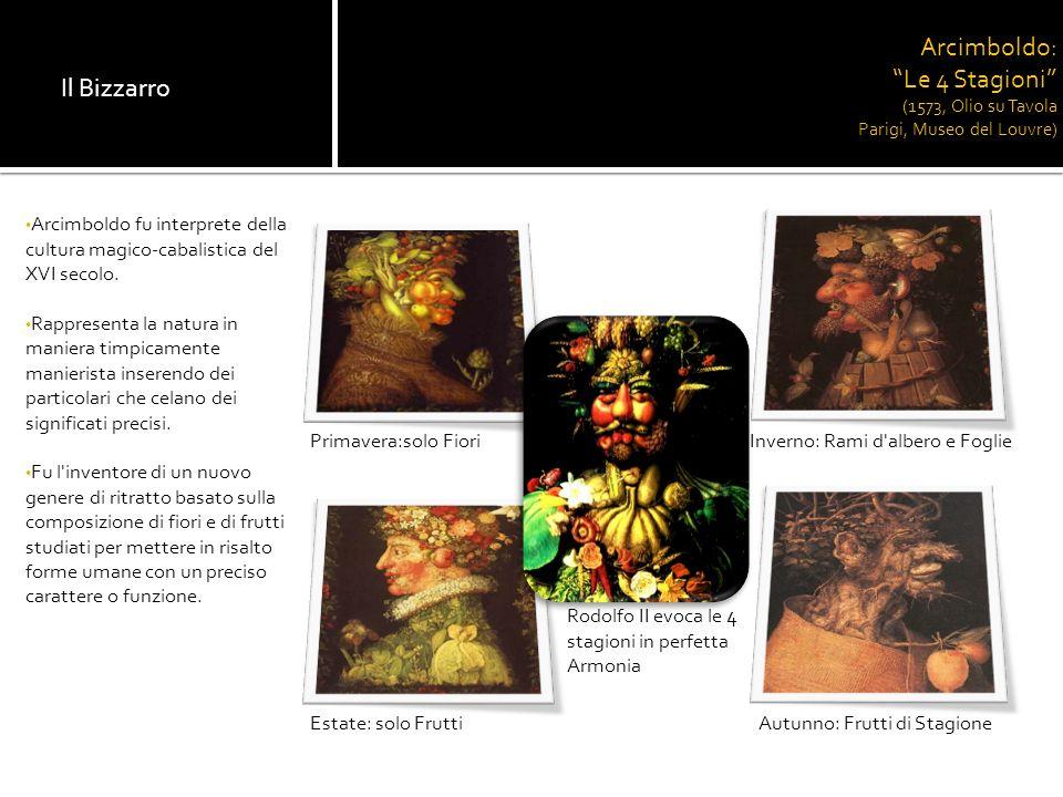 Arcimboldo: Le 4 Stagioni (1573, Olio su Tavola Parigi, Museo del Louvre)