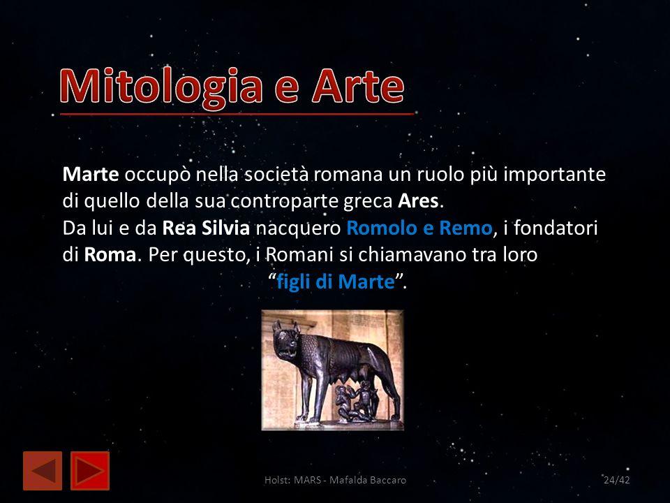 Holst: MARS - Mafalda Baccaro