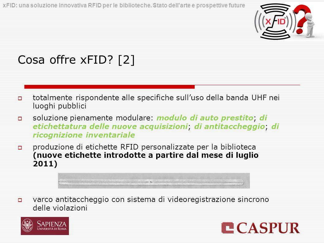 xFID: una soluzione innovativa RFID per le biblioteche