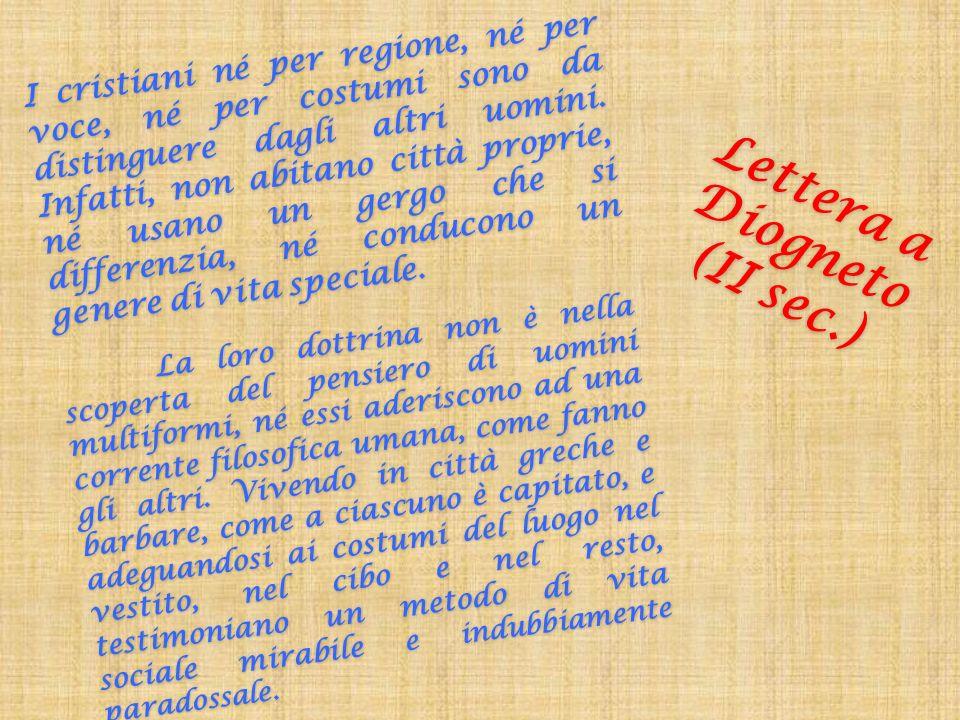 Lettera a Diogneto (II sec.)
