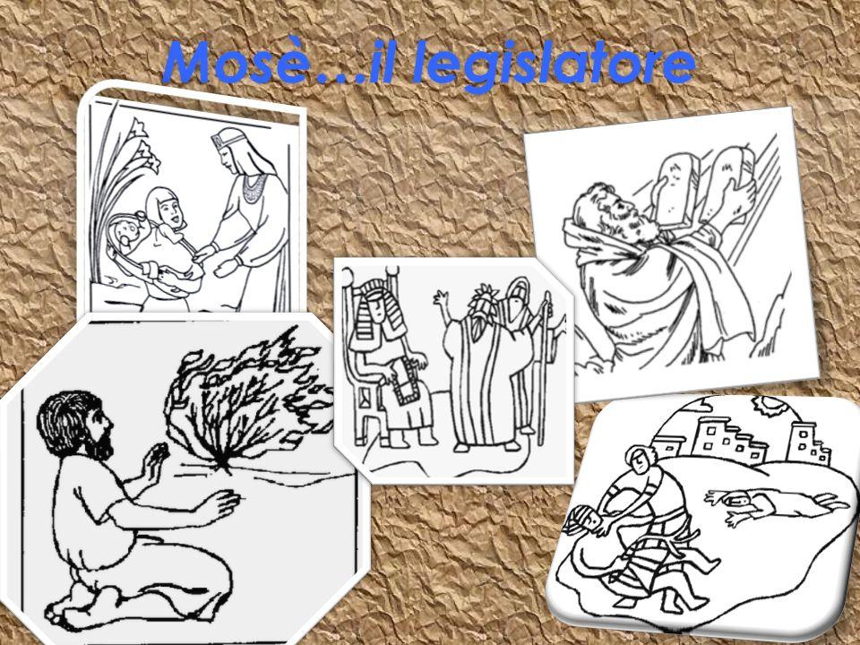 Mosè…il legislatore