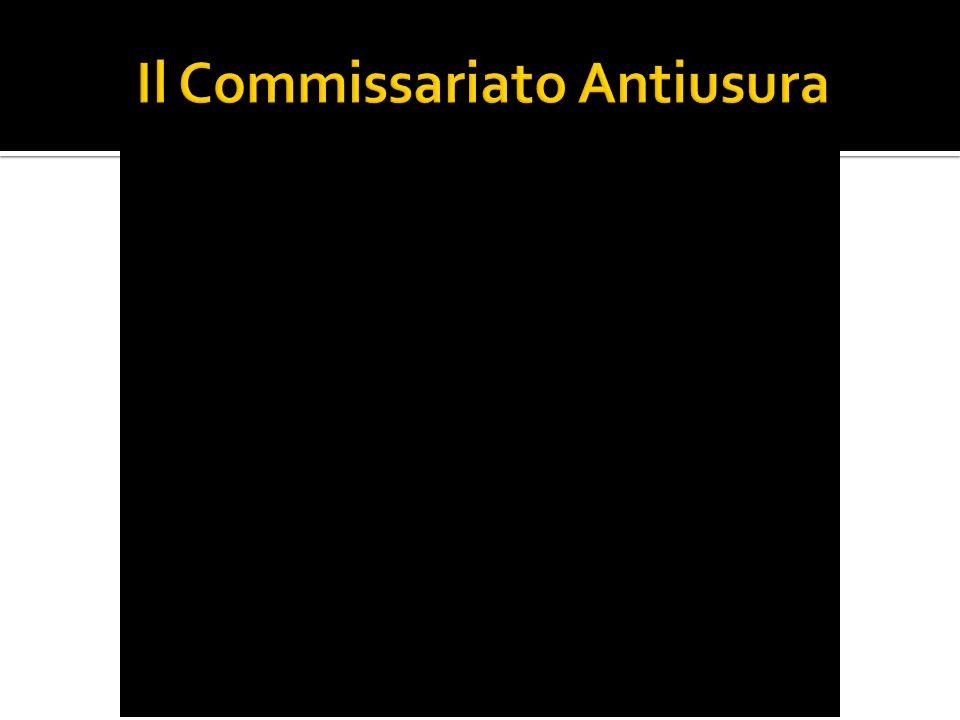 Il Commissariato Antiusura
