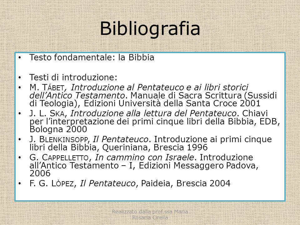 Realizzato dalla prof.ssa Maria Rosaria Cirella