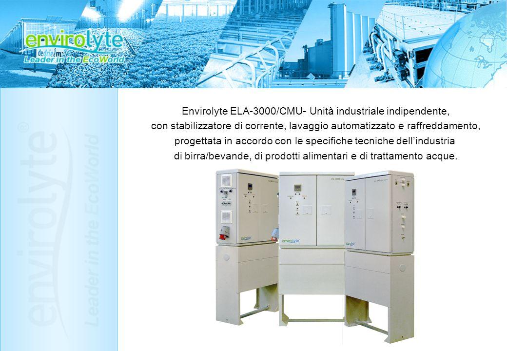 Envirolyte ELA-3000/CMU- Unità industriale indipendente,