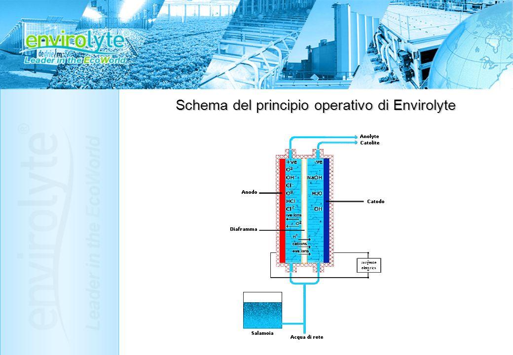 Schema del principio operativo di Envirolyte