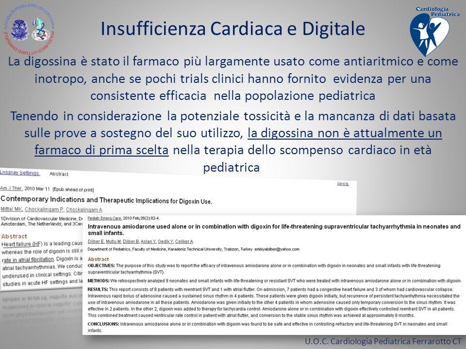 Insufficienza Cardiaca e Digitale