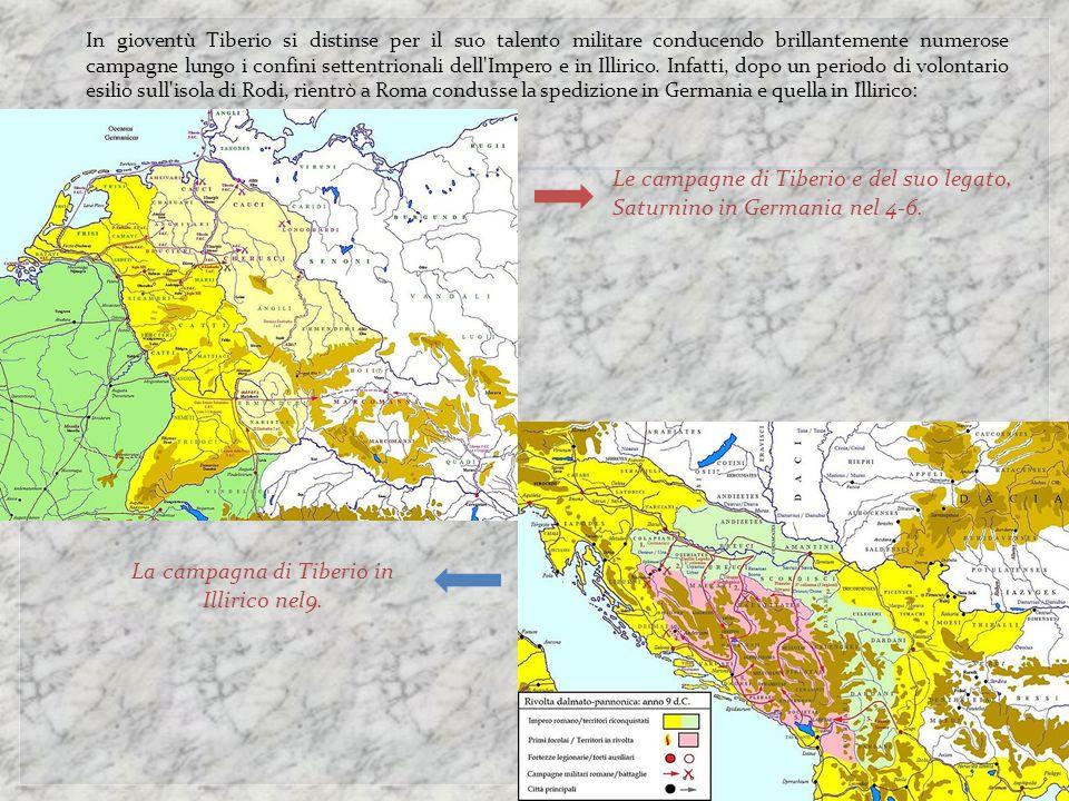 La campagna di Tiberio in Illirico nel9.