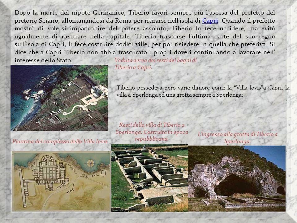 L'ingresso alla grotta di Tiberio a Sperlonga.