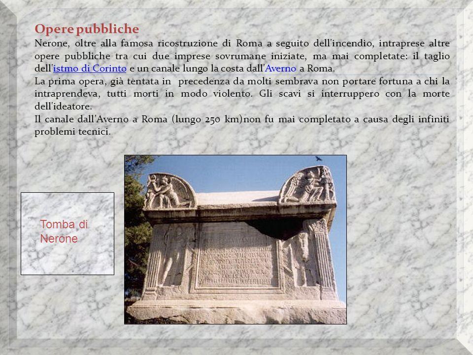 Opere pubbliche Tomba di Nerone