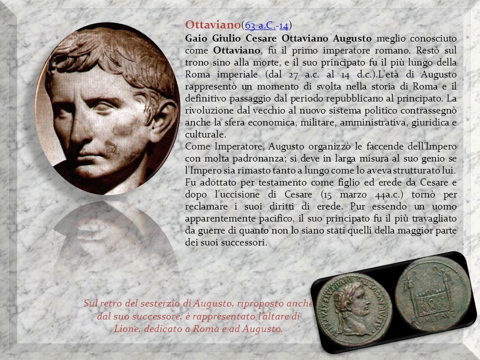 Ottaviano(63 a.C.-14)
