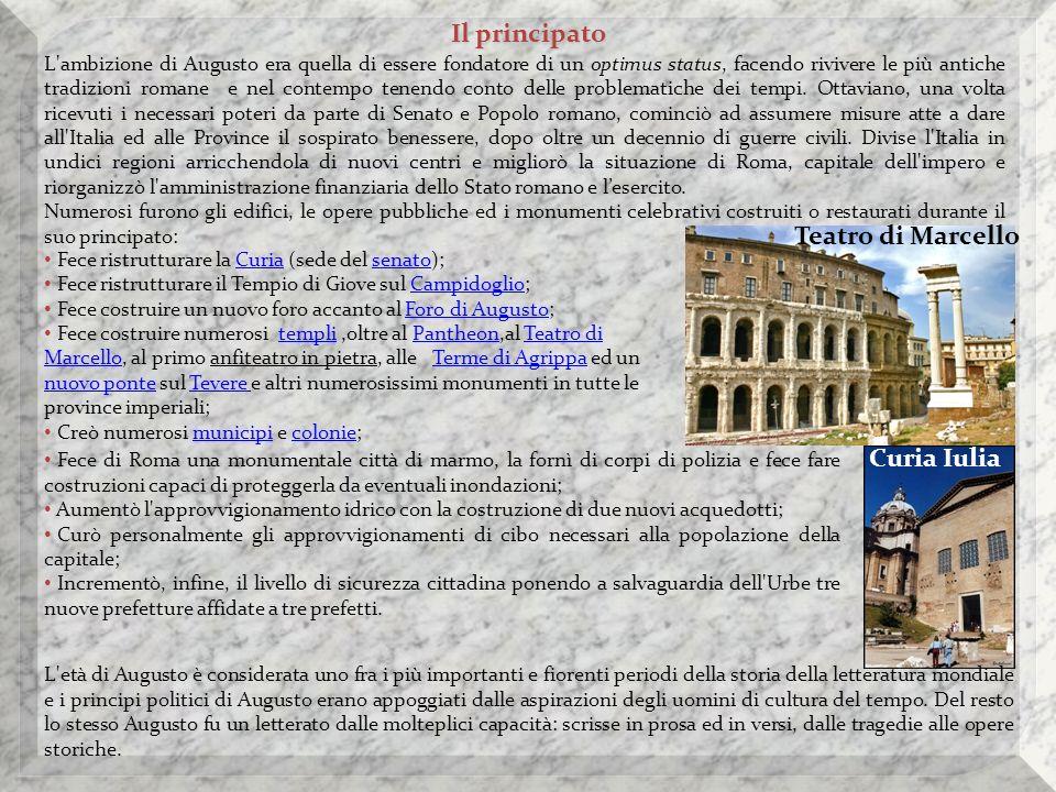 Il principato Teatro di Marcello Curia Iulia