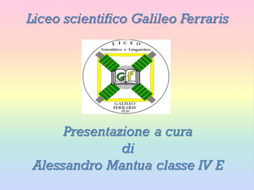 Alessandro Mantua classe IV E