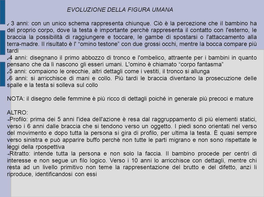 EVOLUZIONE DELLA FIGURA UMANA