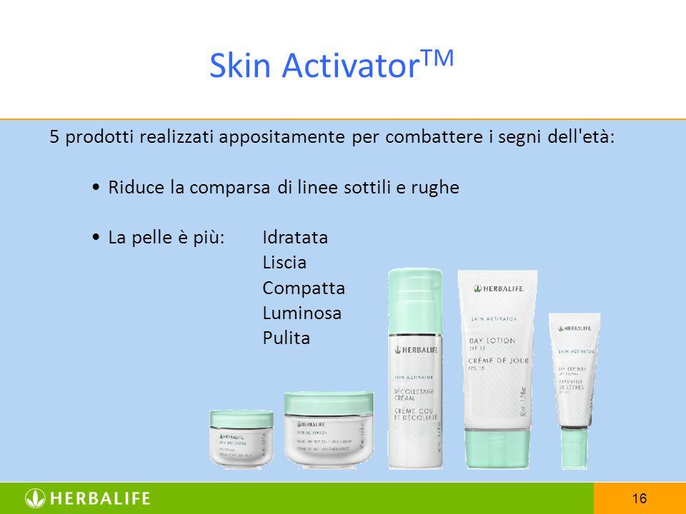 Skin ActivatorTM Riduce la comparsa di linee sottili e rughe