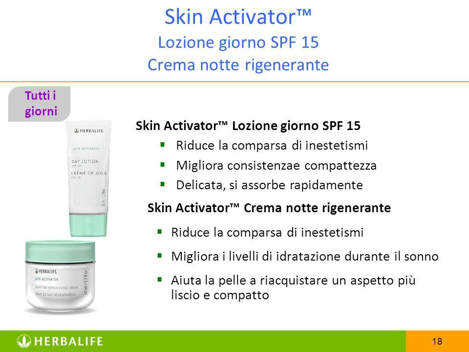 Skin Activator™ Lozione giorno SPF 15 Crema notte rigenerante