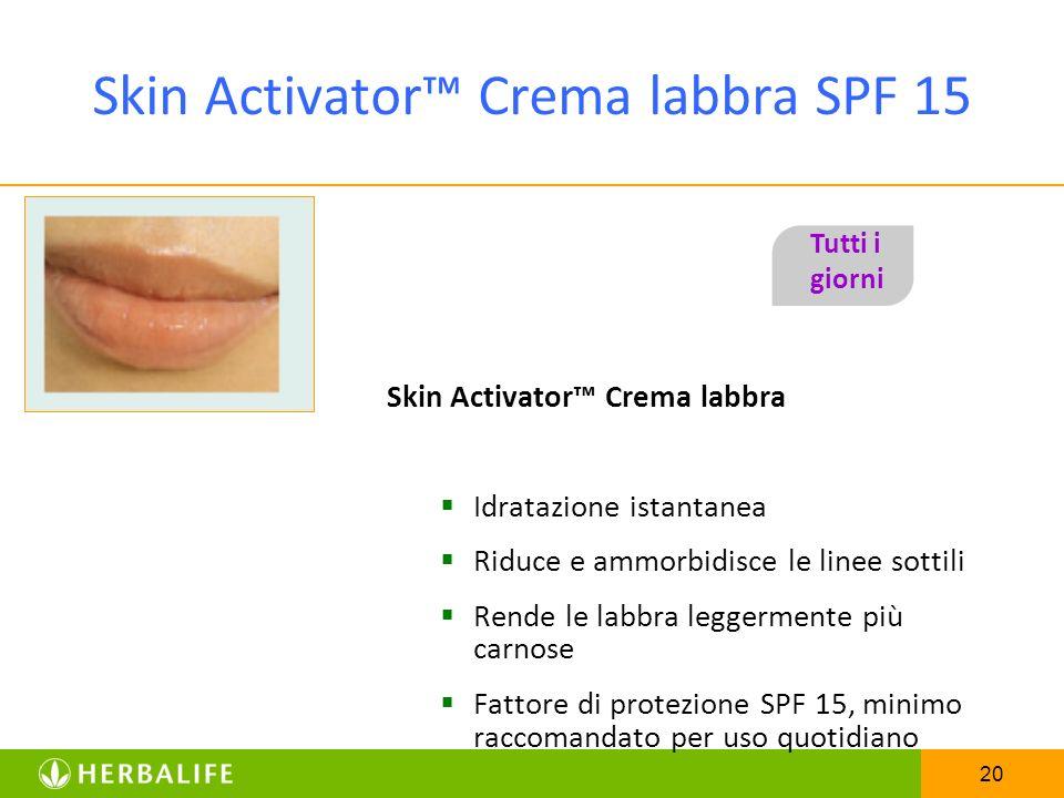 Skin Activator™ Crema labbra SPF 15