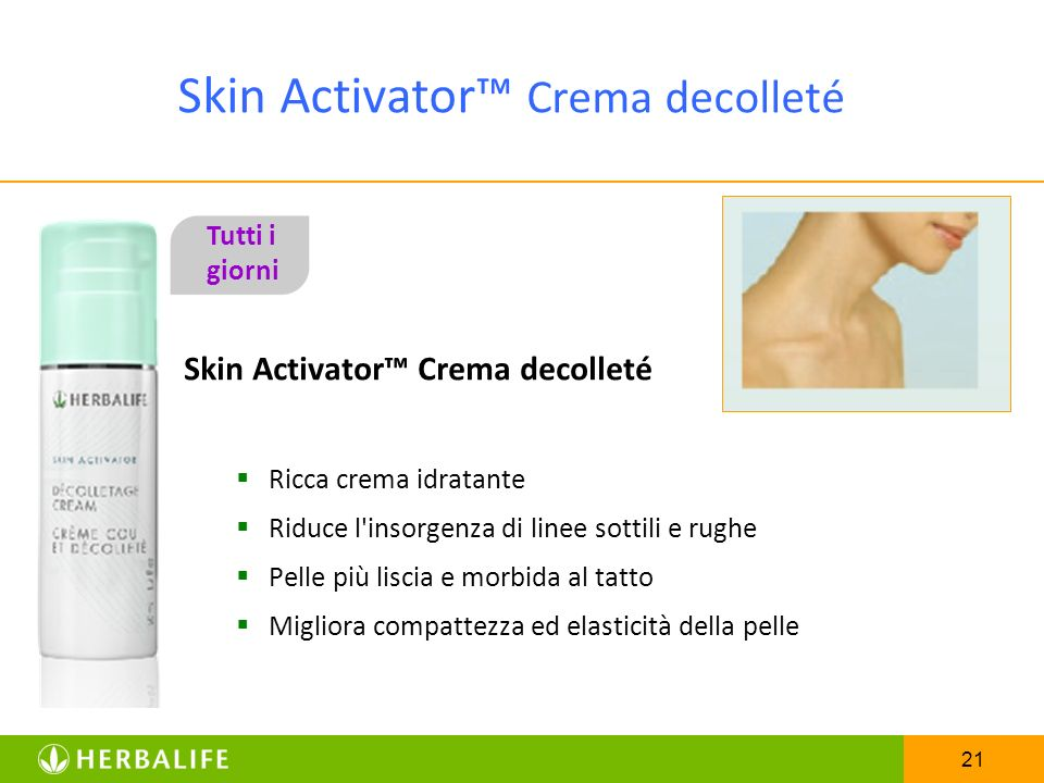 Skin Activator™ Crema decolleté