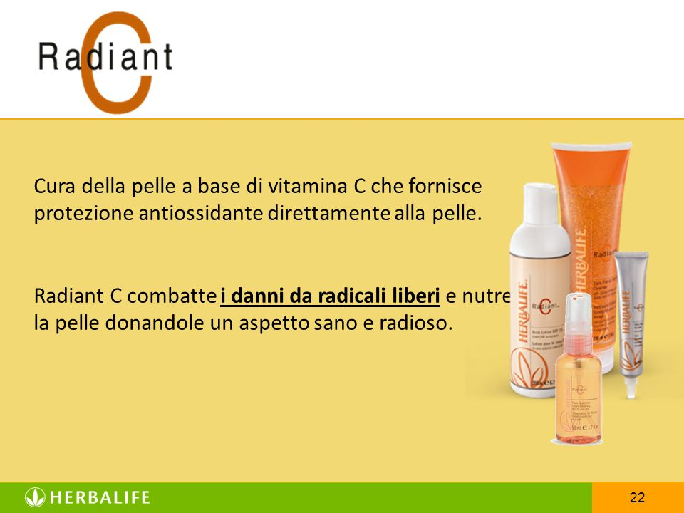 Cura della pelle a base di vitamina C che fornisce protezione antiossidante direttamente alla pelle.