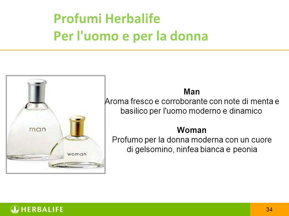 Profumi Herbalife Per l uomo e per la donna