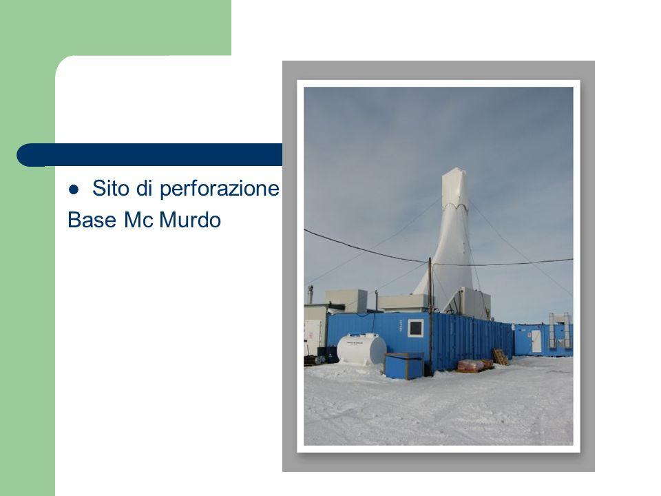 Sito di perforazione Base Mc Murdo