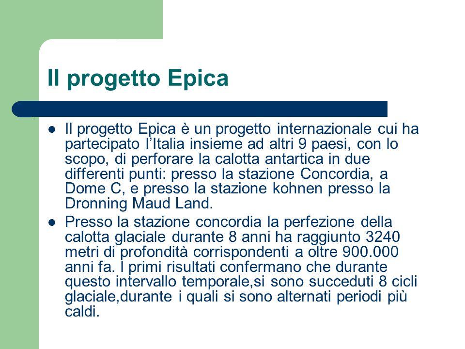 Il progetto Epica