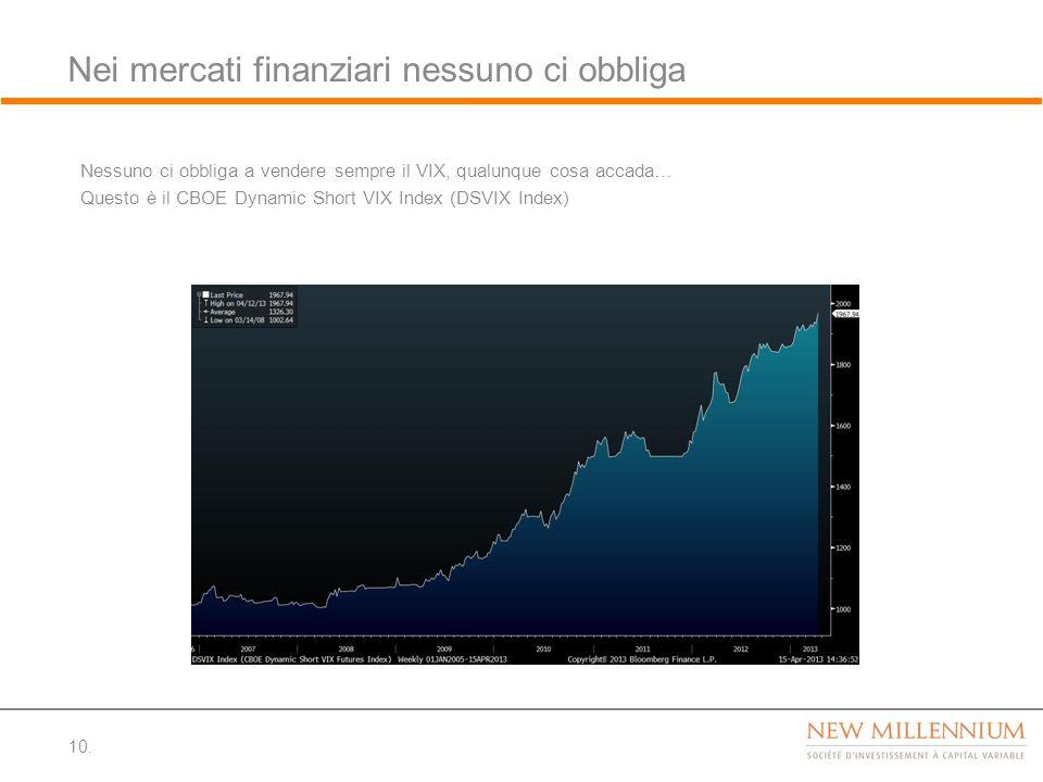 Nei mercati finanziari nessuno ci obbliga
