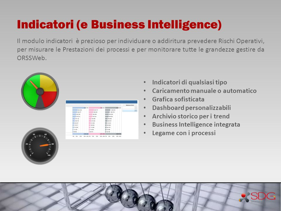 Indicatori (e Business Intelligence)