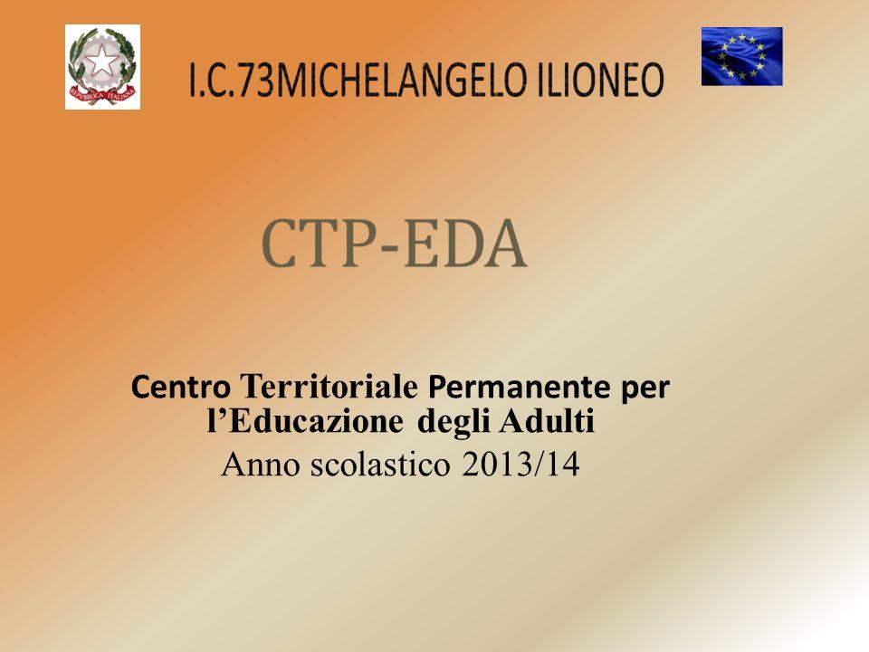 Centro Territoriale Permanente per l'Educazione degli Adulti