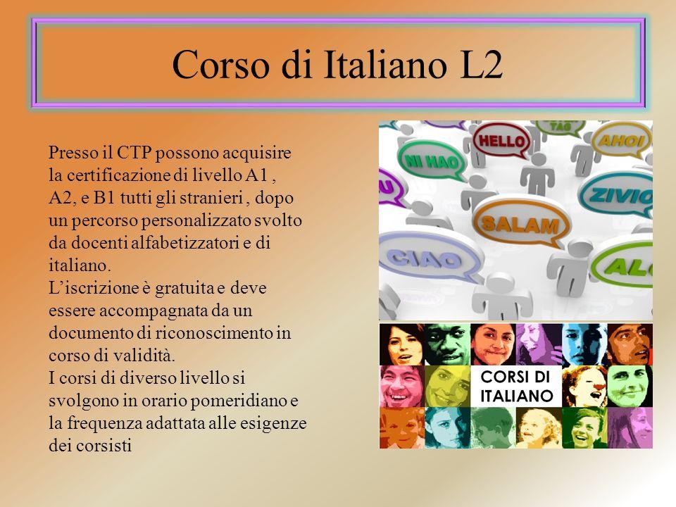 Corso di Italiano L2