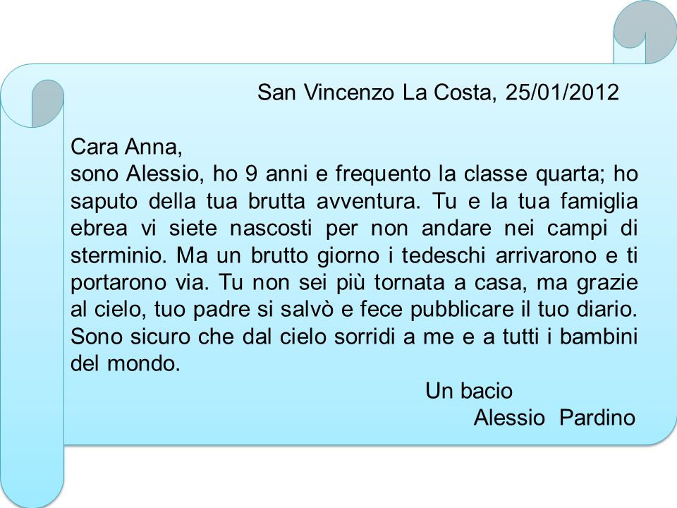 San Vincenzo La Costa, 25/01/2012