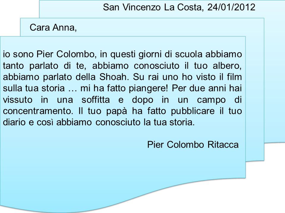 San Vincenzo La Costa, 24/01/2012