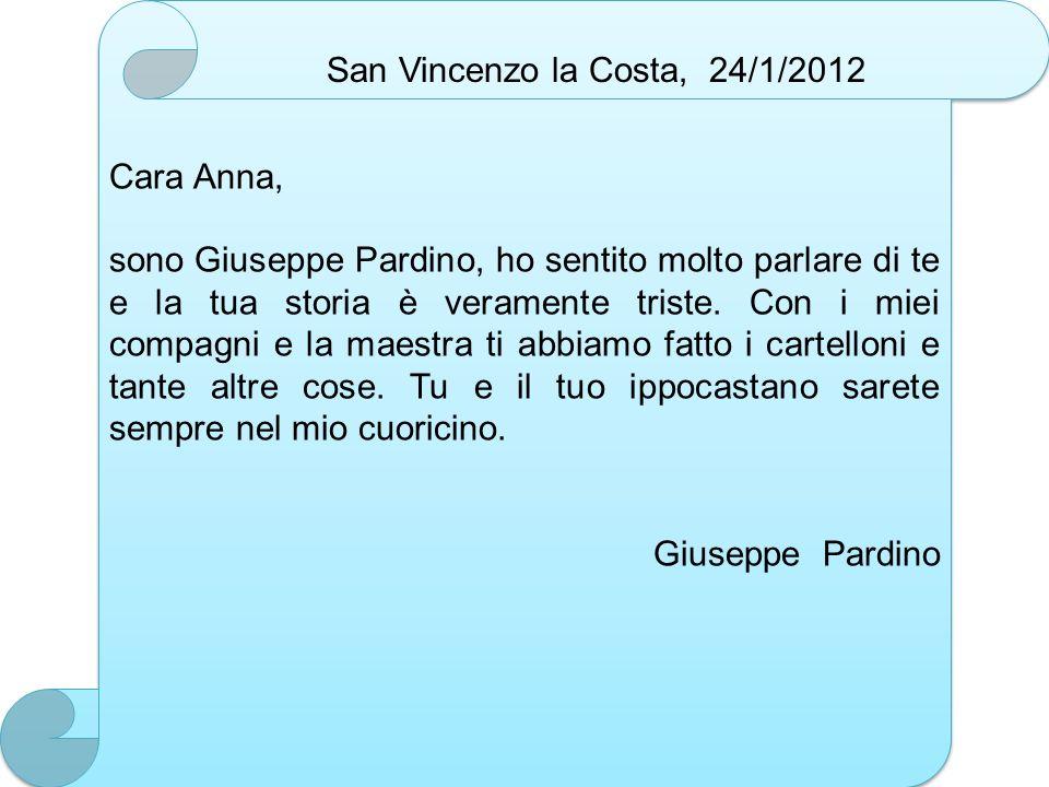 San Vincenzo la Costa, 24/1/2012