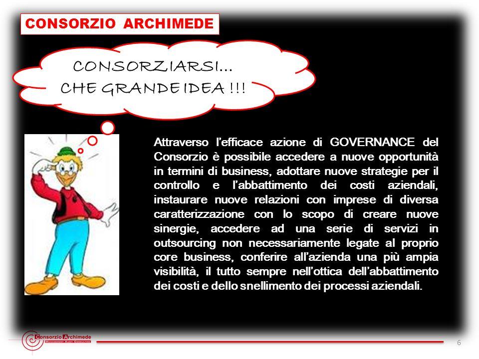 CONSORZIARSI… CHE GRANDE IDEA !!!