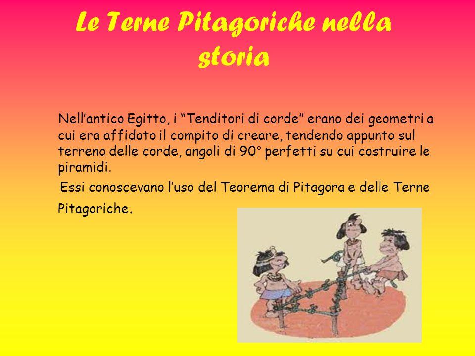 Le Terne Pitagoriche nella storia