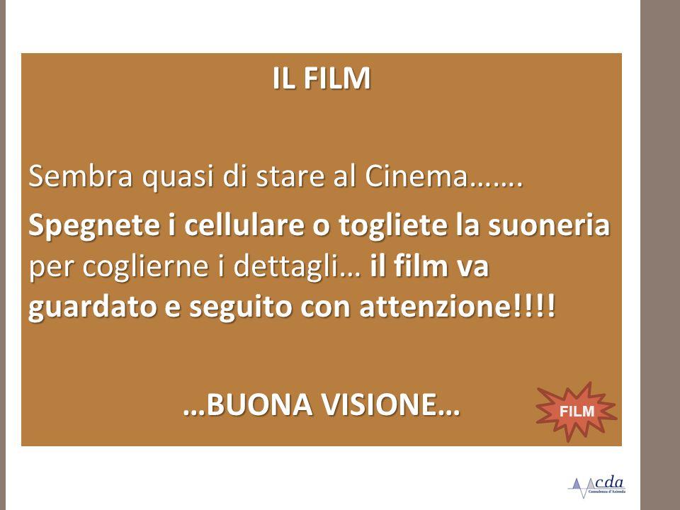IL FILM …BUONA VISIONE…