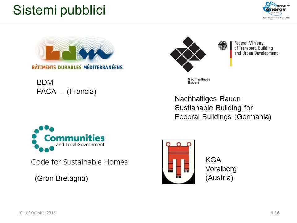 Sistemi pubblici BDM PACA - (Francia) Nachhaltiges Bauen