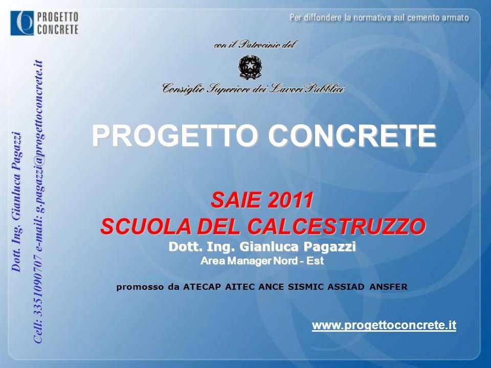 PROGETTO CONCRETE SAIE 2011 SCUOLA DEL CALCESTRUZZO