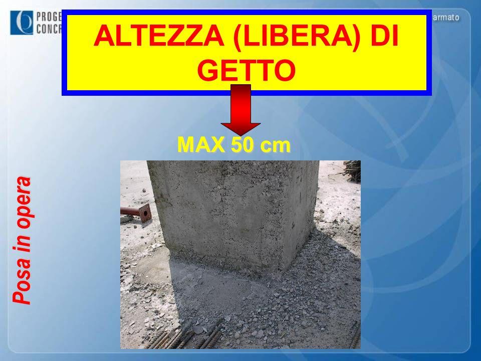 ALTEZZA (LIBERA) DI GETTO