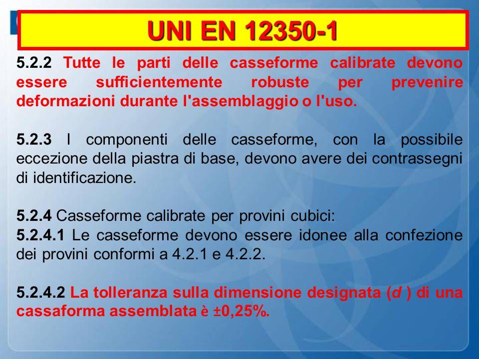 UNI EN 12350-1