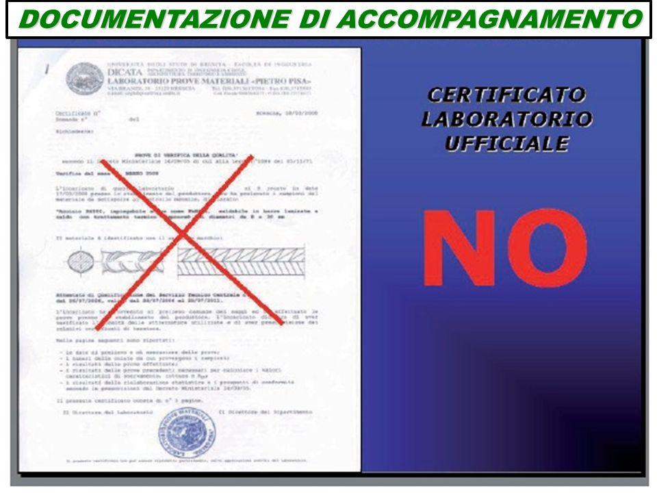 DOCUMENTAZIONE DI ACCOMPAGNAMENTO