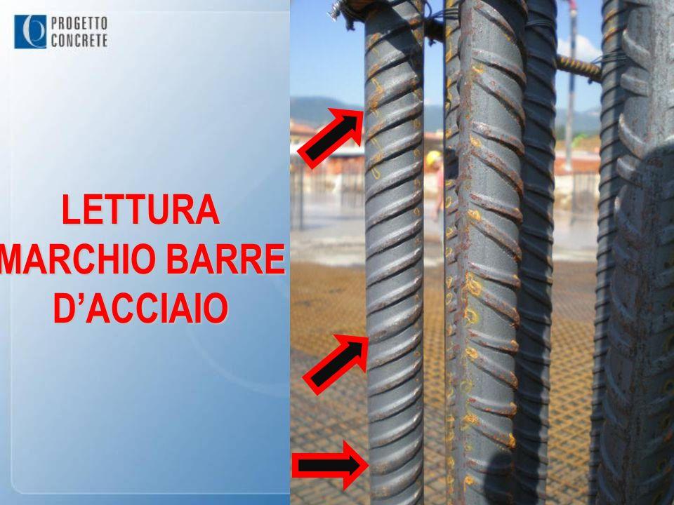 LETTURA MARCHIO BARRE D'ACCIAIO