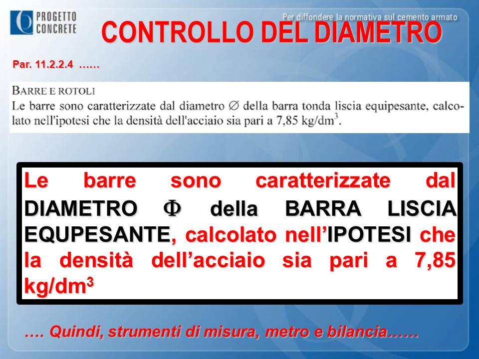 CONTROLLO DEL DIAMETRO