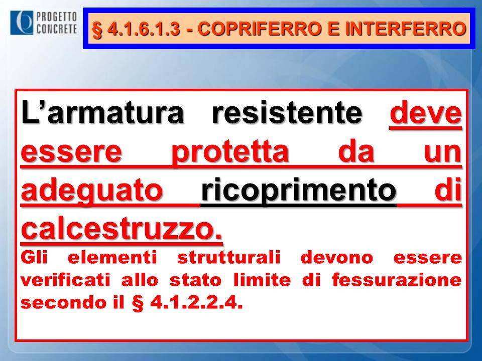 § 4.1.6.1.3 - COPRIFERRO E INTERFERRO