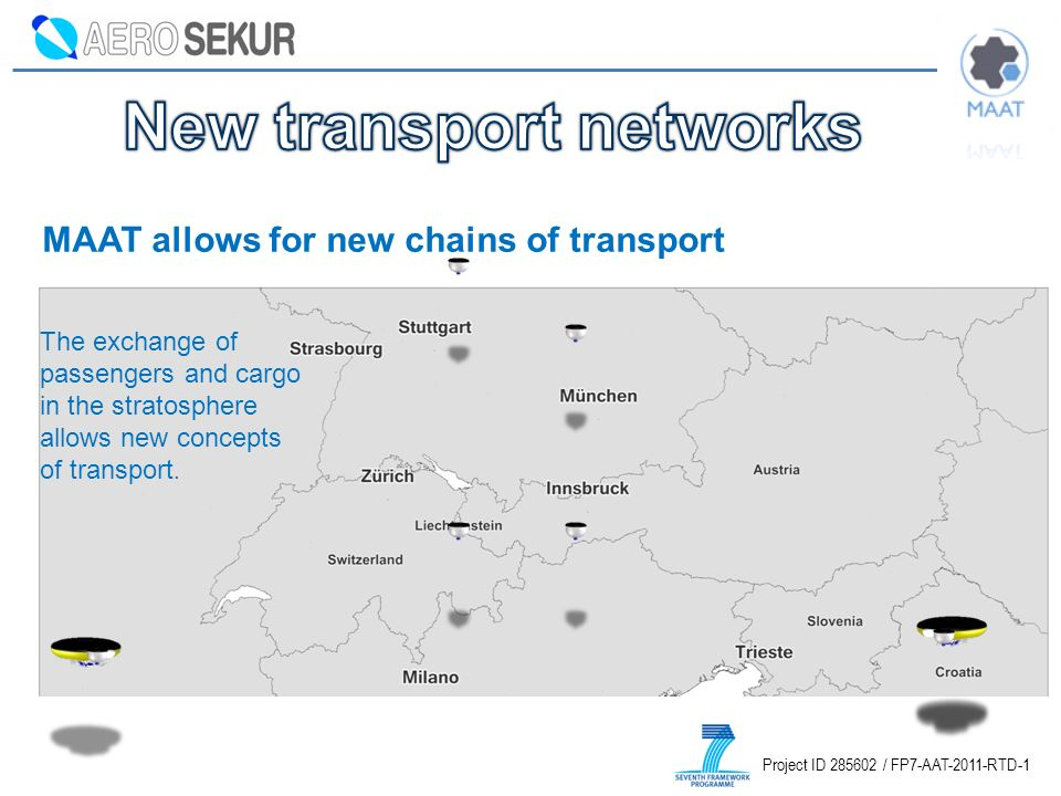 New transport networks