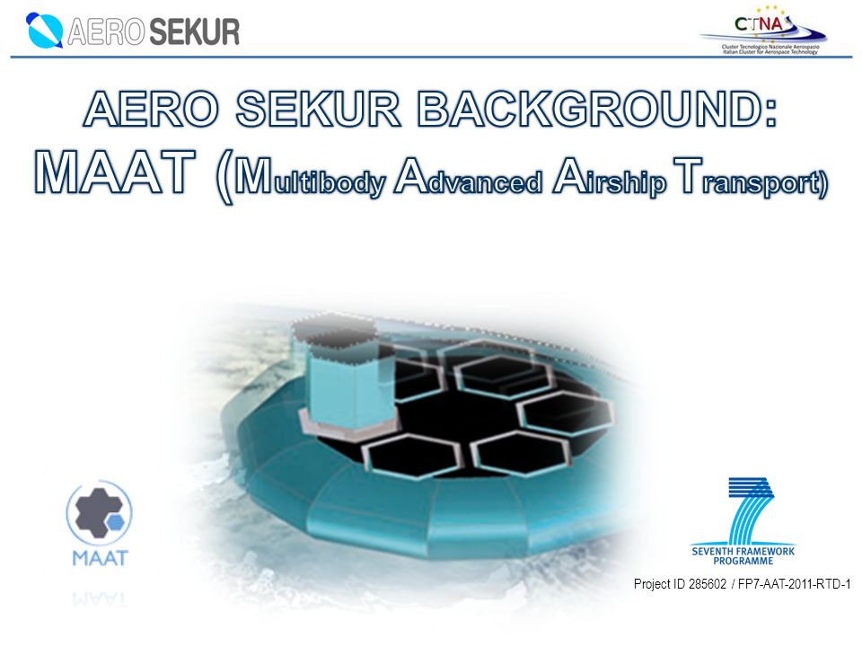 AERO SEKUR BACKGROUND: MAAT (Multibody Advanced Airship Transport)