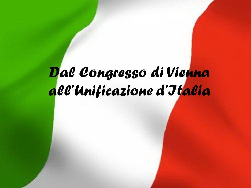 Dal Congresso di Vienna all'Unificazione d'Italia