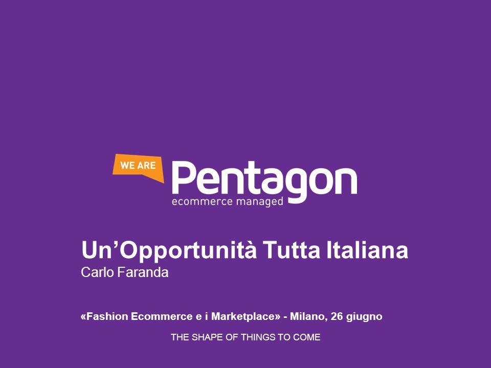 Un'Opportunità Tutta Italiana