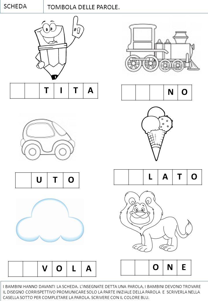 L inventa filastrocche ppt scaricare for Parole con scie per bambini
